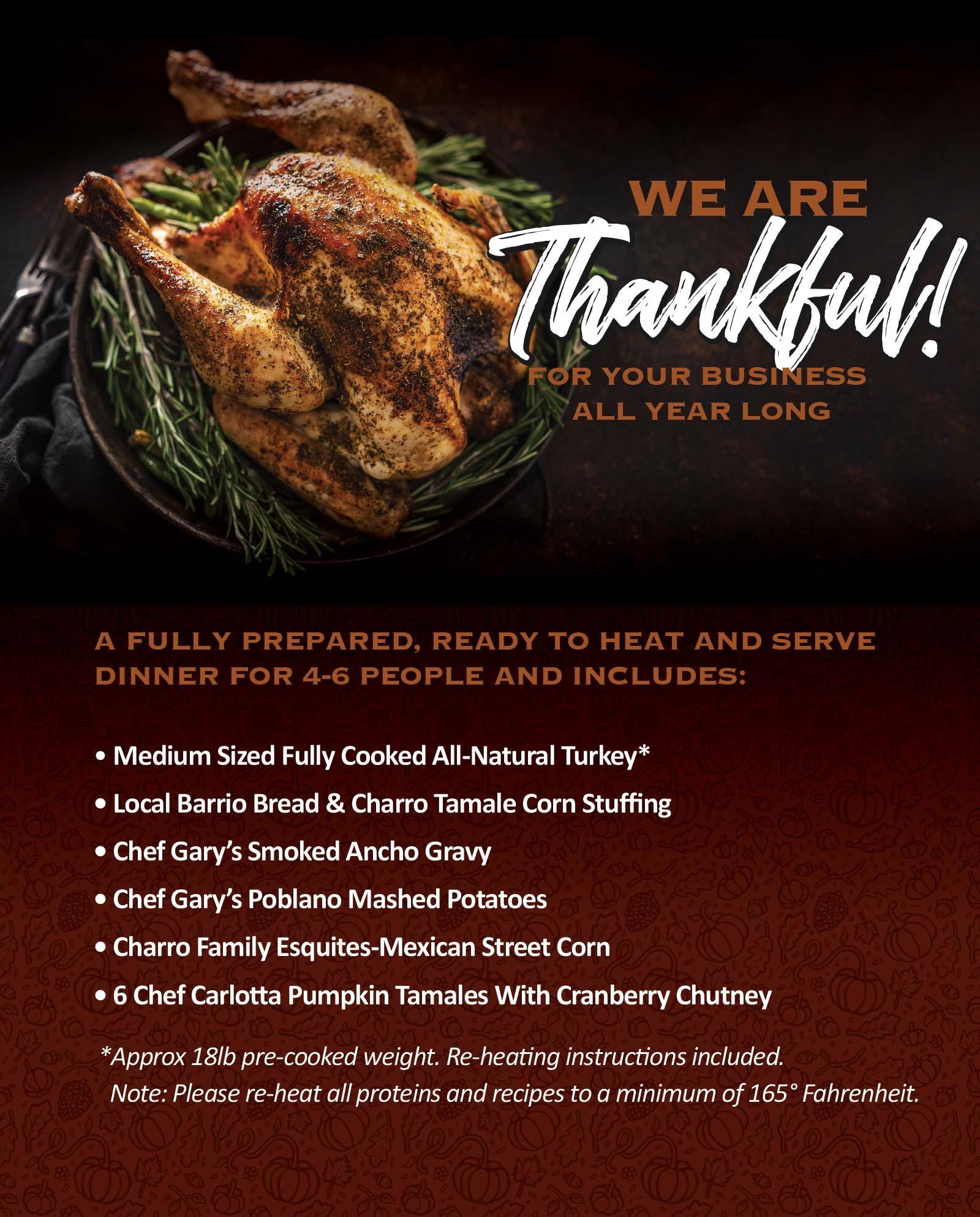 Thanksgiving Meal Kit 2020
